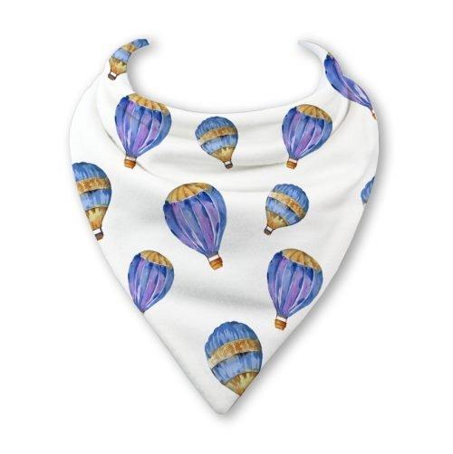 hot air balloon bib